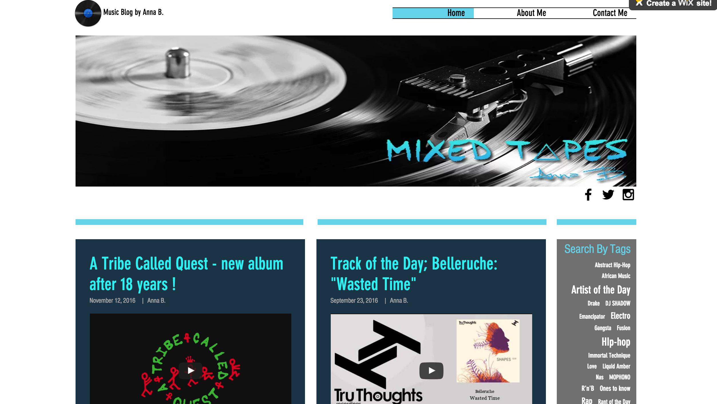 photo blog Mixed Tapes