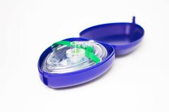 Masque de poche pour réanimation cardio respiratoire