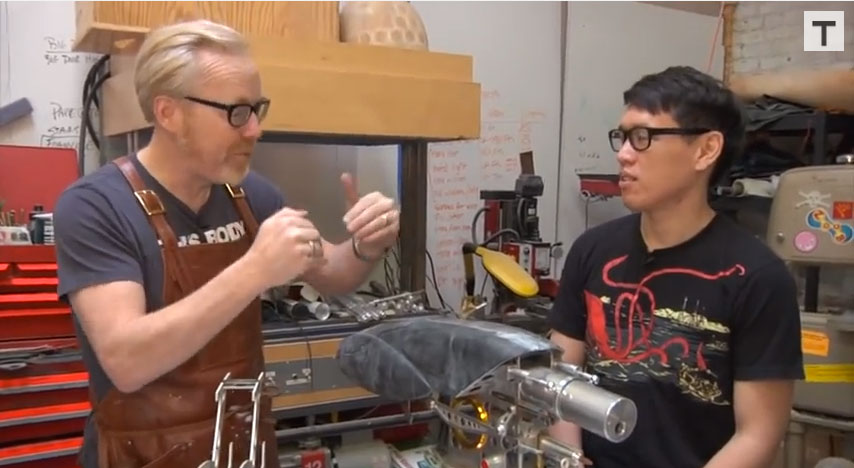 Adam Savage and a Proto Form