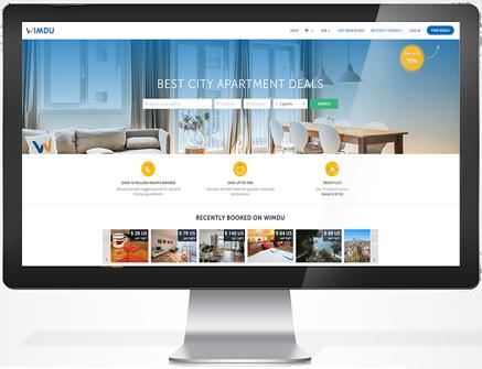 Wimdu, peer-to-peer property rentals