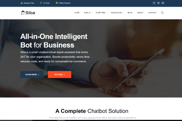 All-in-One Intelligent Bot for Business