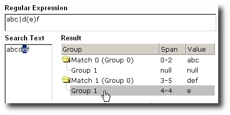 Regular Expression Toolkit Screenshot
