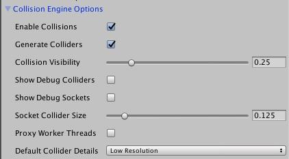 Collision Options