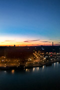 View from my room at 3:25am. Helsinki, Finland, 2017