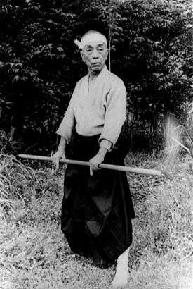 Takamatsu Sensei im hohen Alter
