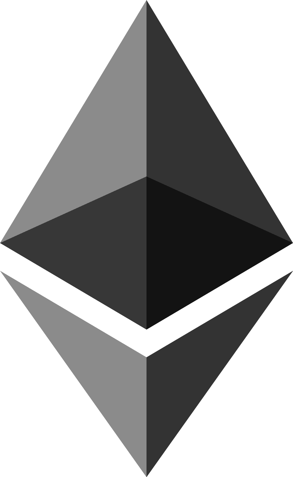 Ethereum icon black