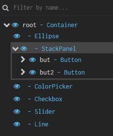 GUI tools