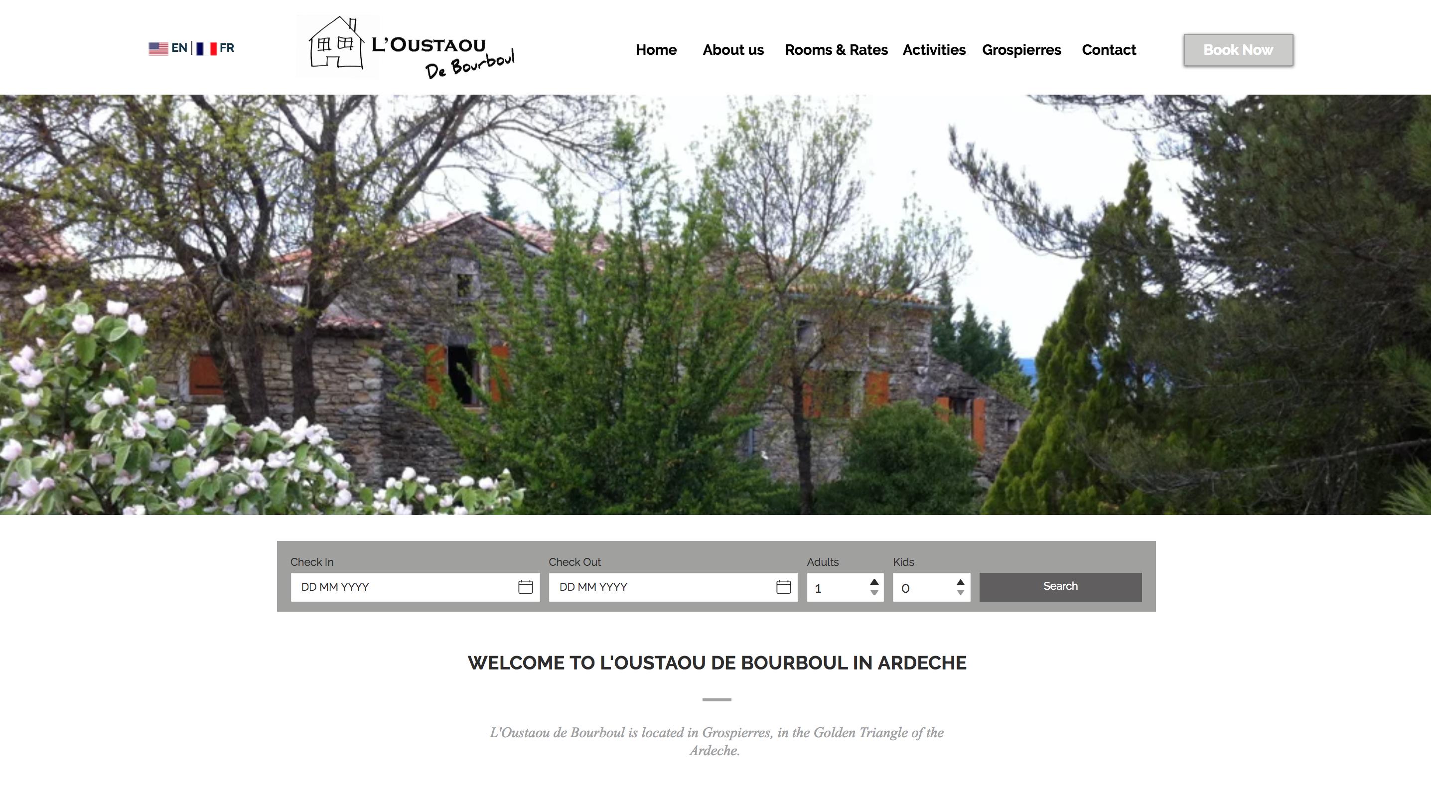 photo site l'Oustaou de Bourboul