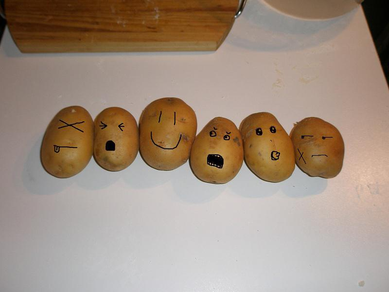 • Le patate da bollire, come mamma le ha fatte
