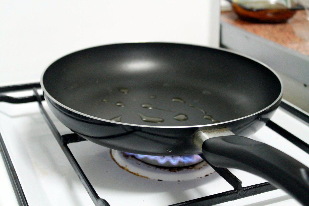 • Non esagerate con l'olio, ma non siate nemmeno tirchi!