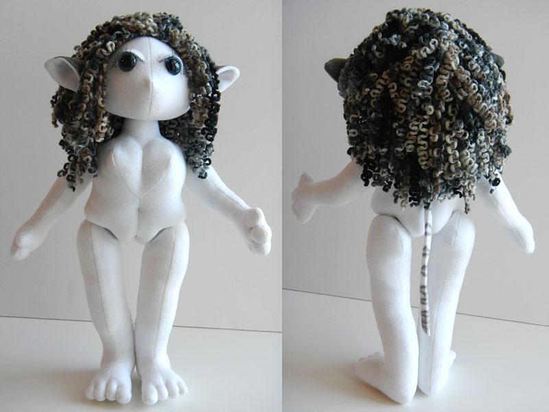 Sasha, Elf Poppet, undressed