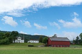 Farmstead near Sande. Sande, Vestfold, Norway, 2017