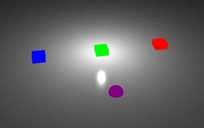 WebGL scene for ACTIONS