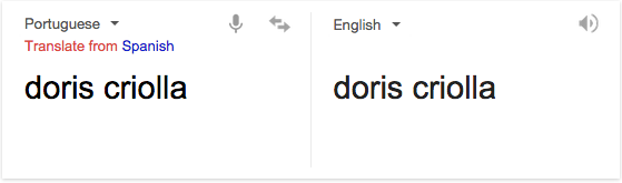 doris criolla 3