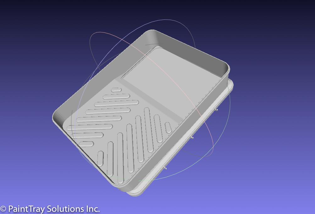 PaintTray 3D Model