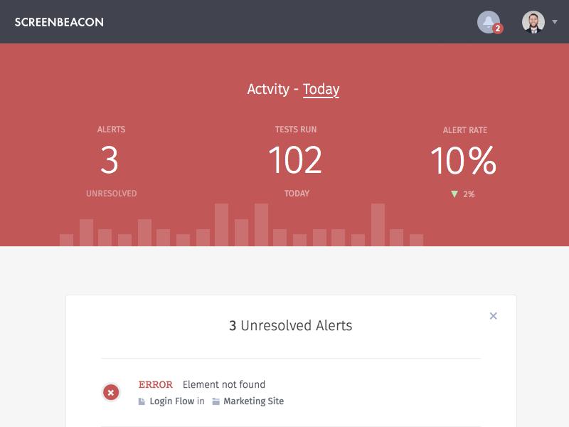 Screenbeacon screenshot