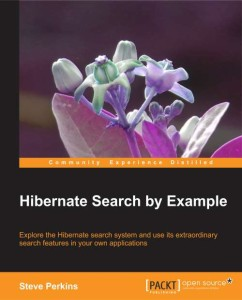 Hibernate Search book cover