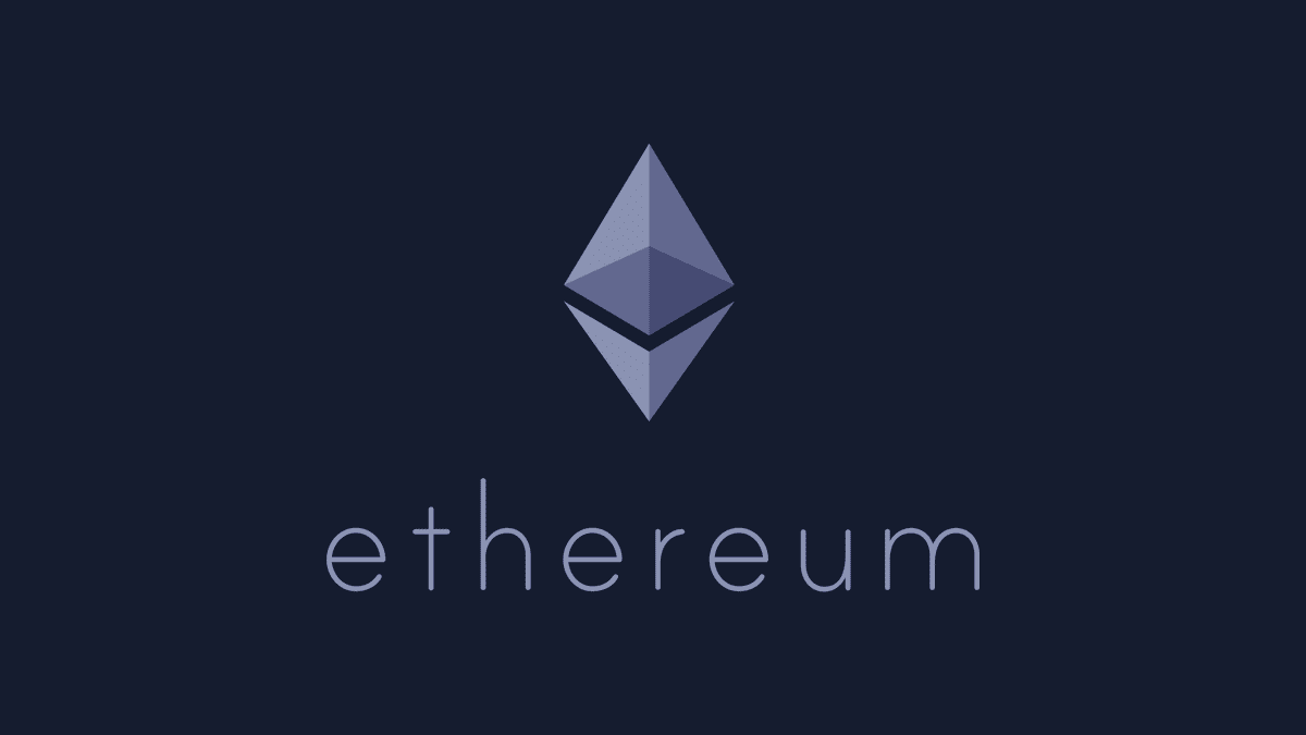 Ethereum logo purple