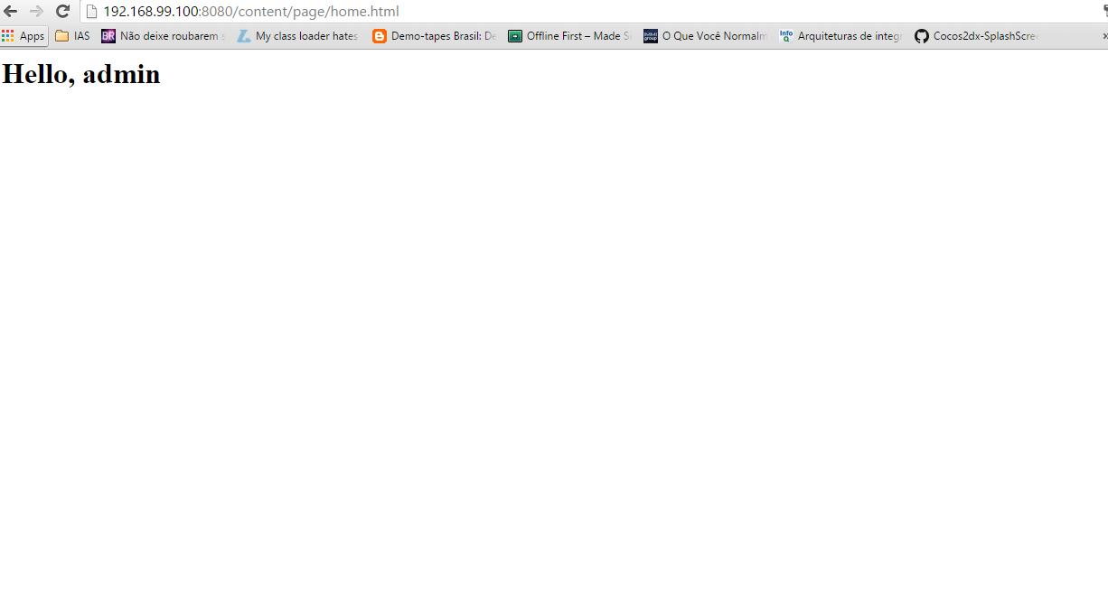 Logged User Page