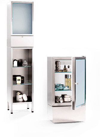 Luxury cosmetics fridge / cosmetics cooler