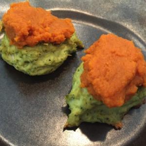 Homemade Pumpkin Puff dog treats
