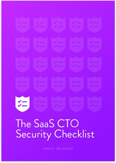 The Saas CTO Security Checklist
