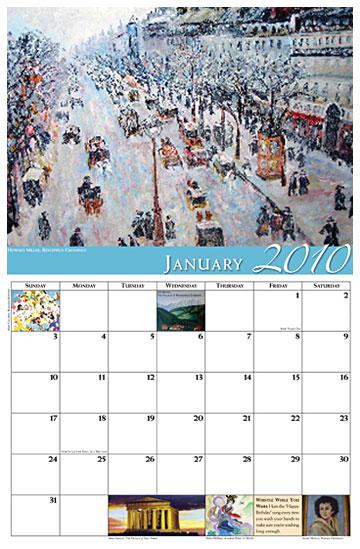 benchmark calendar