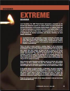 Extreme Behavior - Introduction