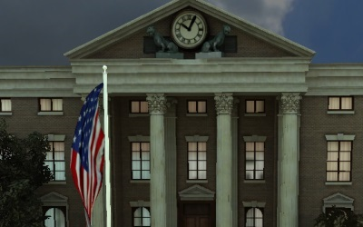 WebGL scene for HILLVALLEY
