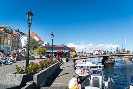 Waterfront in Kragerø.