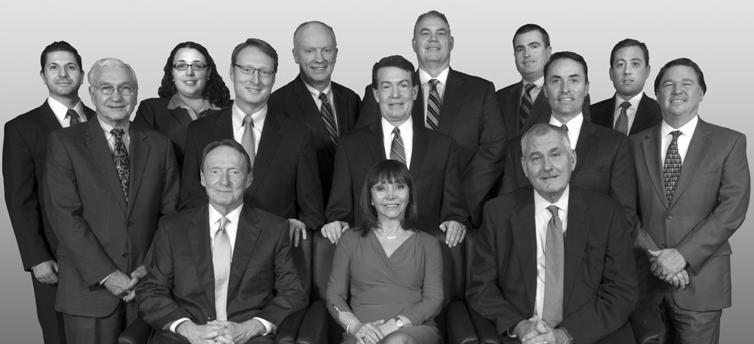 Black and white group photo of PSRB attorneys