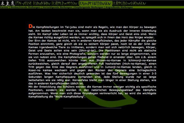 Website 2001
