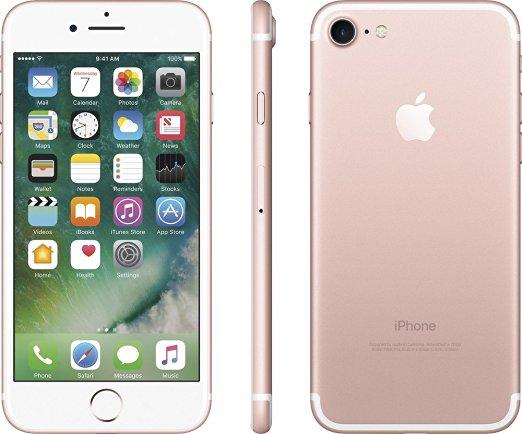 Розовый iPhone 7