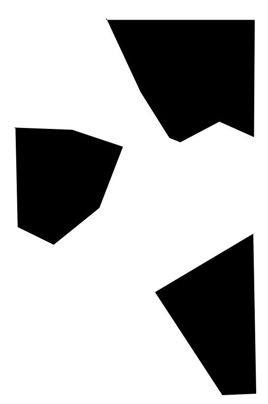 Image with Alpha Channel defining shapes for demo #3