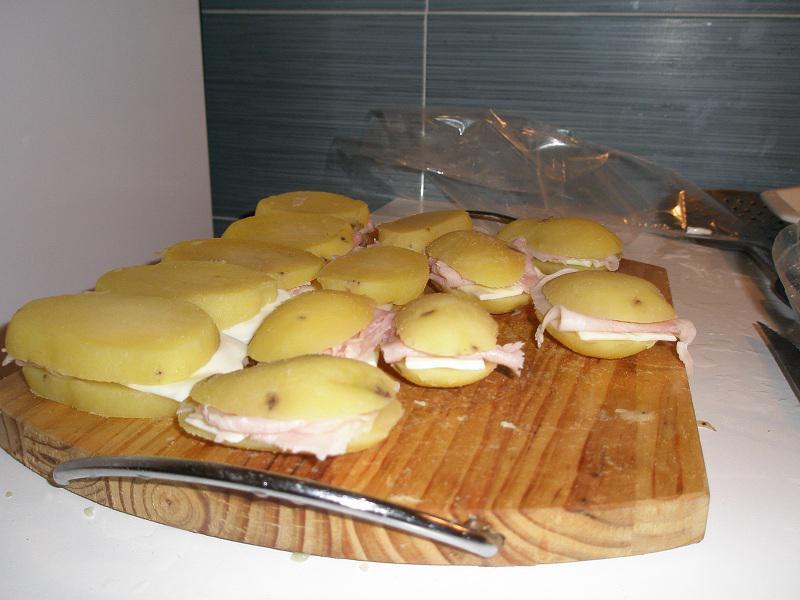 • I Pata-Sandwich pronti per uova e farina