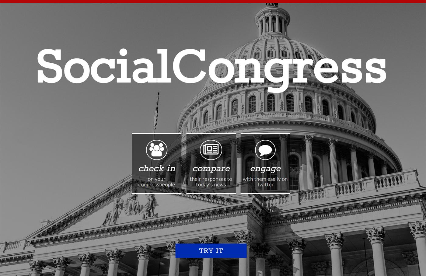 Screenshot of Social Congress