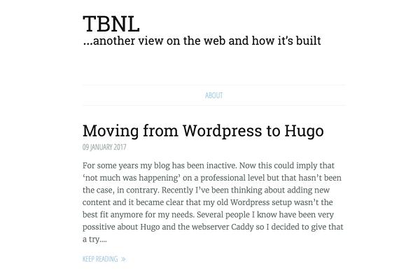 Blog of programmer Tibo Beijen
