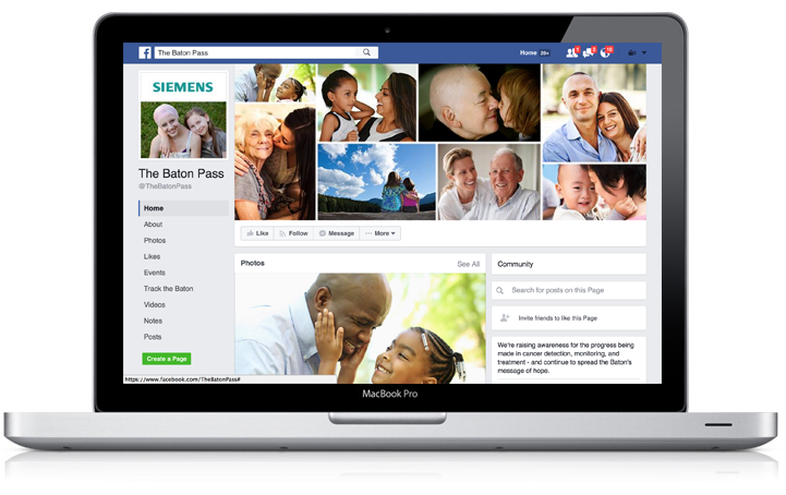 Baton Pass FaceBook App