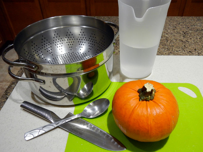 Steamed Pumpkin Setup