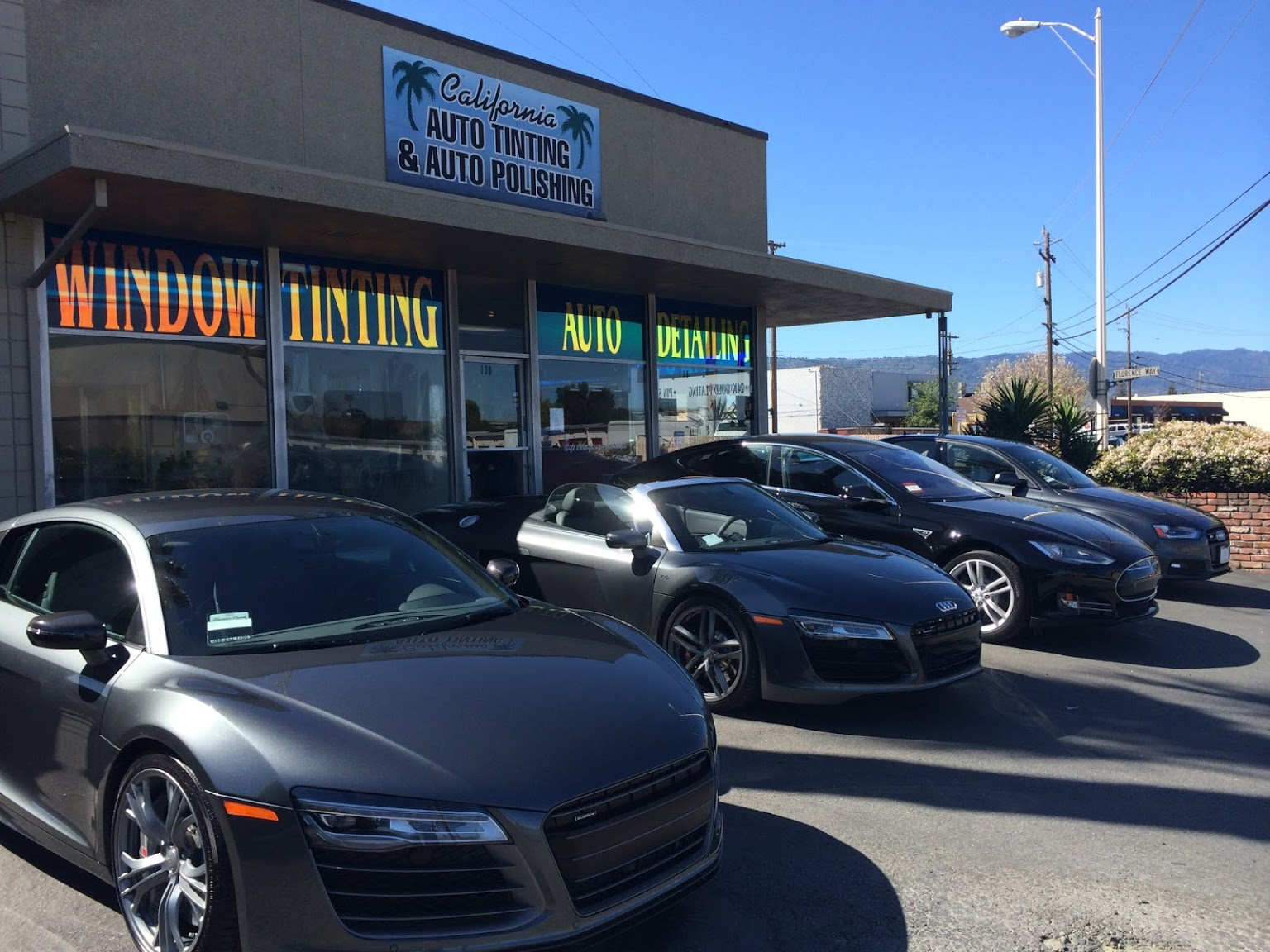 130 E. Sunnyoaks, California Auto Tinting and Polishing