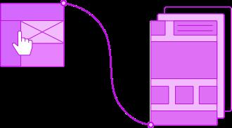 Wireframes & Mockups design process