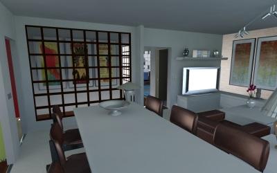WebGL scene for FLAT 2009