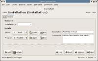 Glom screenshot: details mode, editing a record