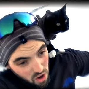 Weston and Jesse sledding