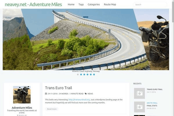 Adventure Miles - A personal travel blog.