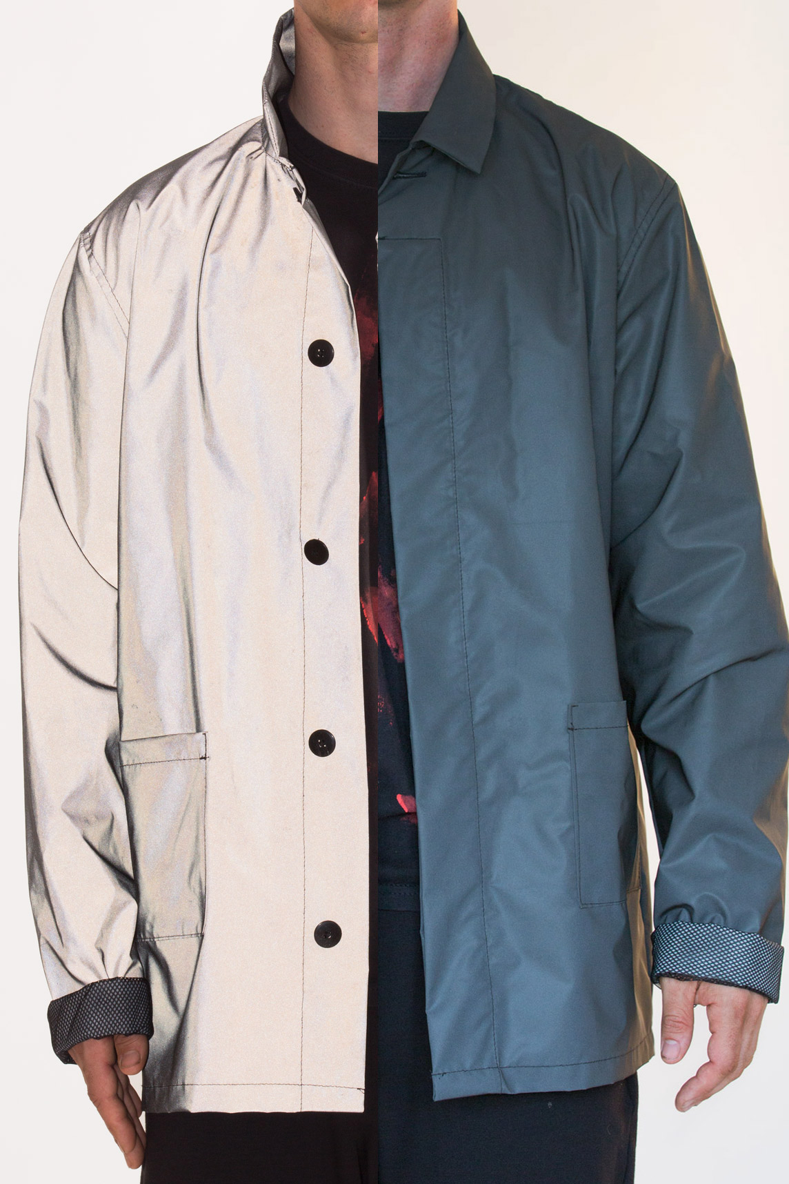 Black Reflective Jacket