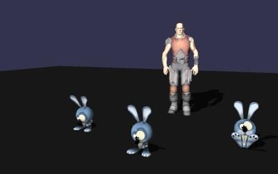 WebGL scene for BONES