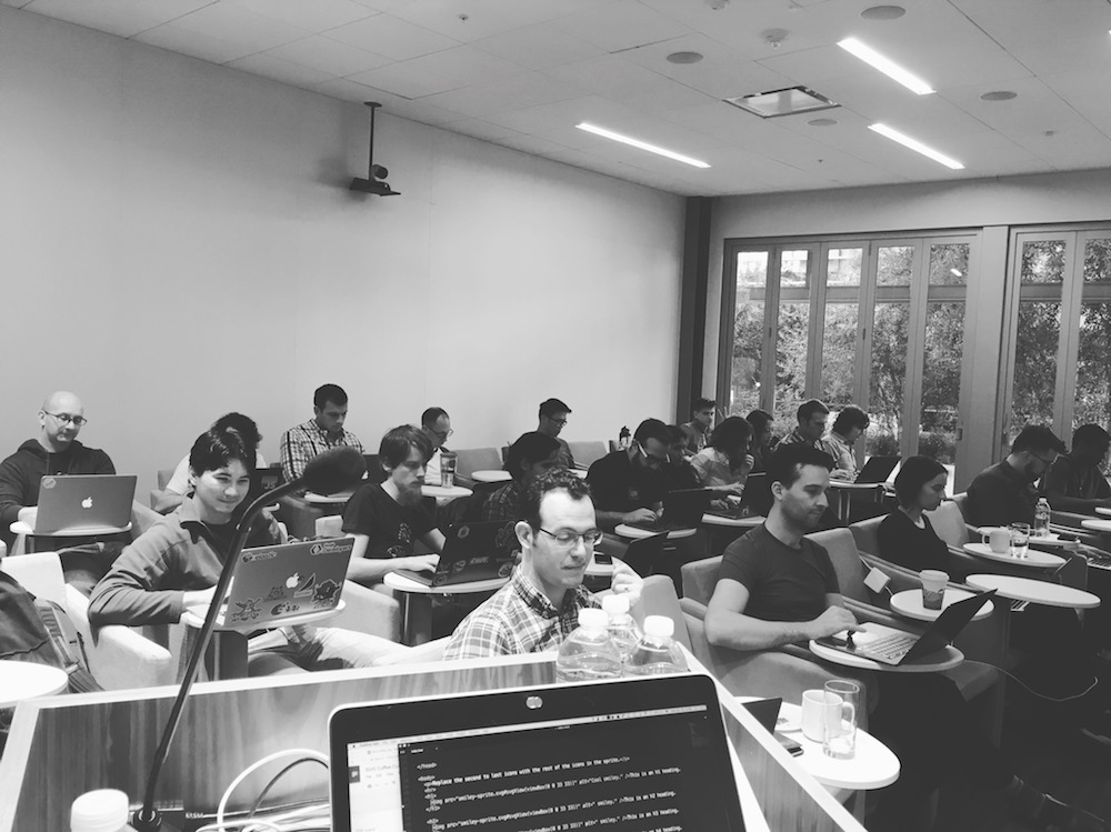 The SVG Workshop at Netflix HQ