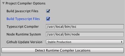 Node Runtime Compilers
