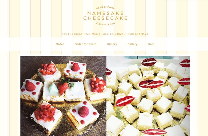 Menlo Park - Cheesecake Store